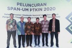 Foto Bersama Ketua Sekretariat SPAN-UM PTKIN 2020