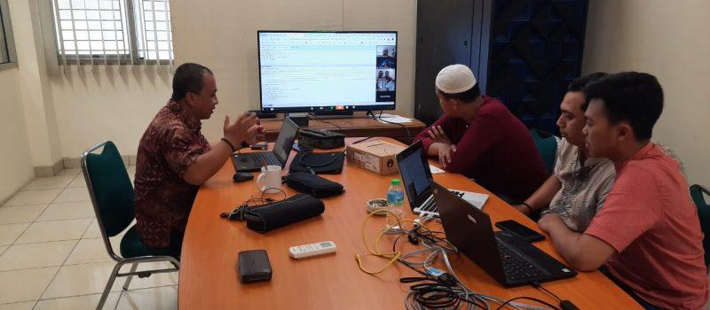 Tim PTIPD Meeting Dengan  Tim NGINX Singapore Menggunakan Teleconfrence