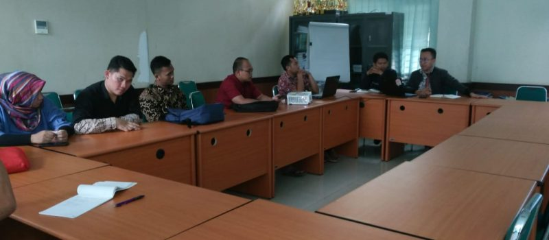 Sosialisasi Aplikasi Pendaftaran Sidang di Fakultas Ushuludin